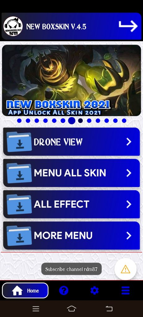 New BoxSkin 5.5 2021 ML Injector APK (Updated) Download 5