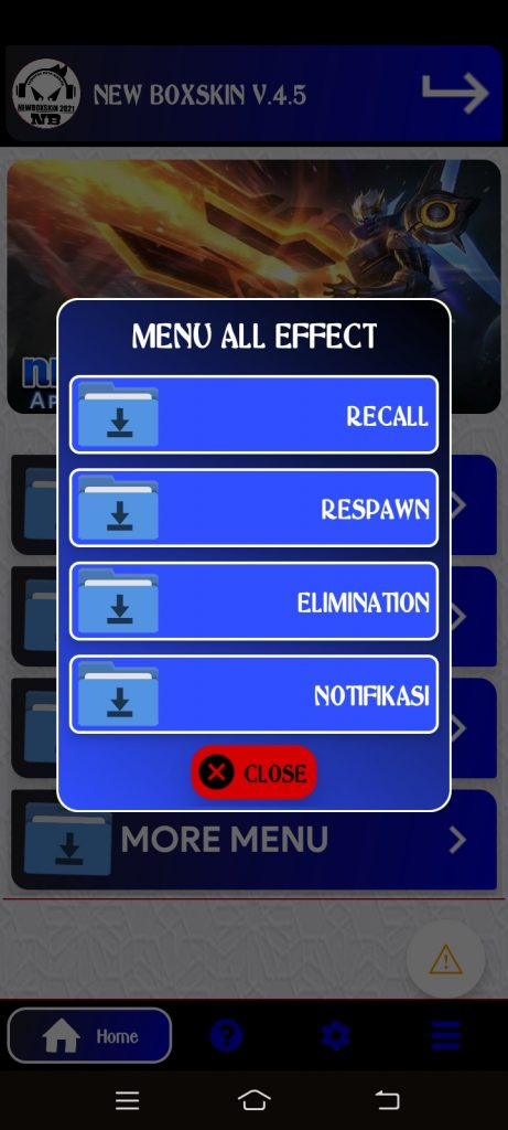 New BoxSkin 5.5 2021 ML Injector APK (Updated) Download 1